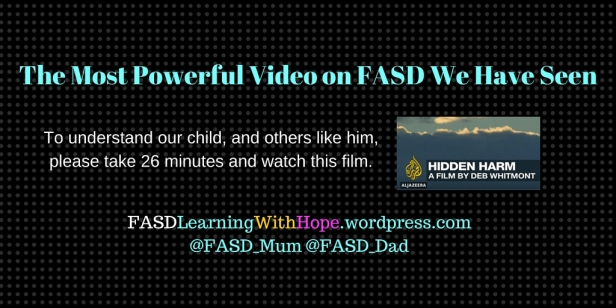 The Most Powerful Video on FASD We Have Seen