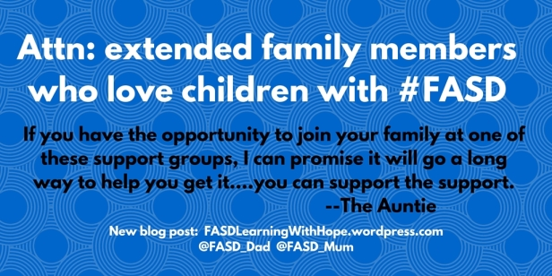 FASD parents_carers can support each other, but you can support the support.