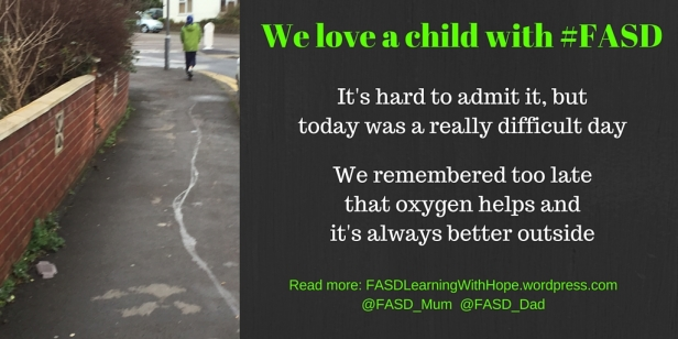 It's 6.30, you just want to sleep, instead you are faced with a brewing #FASD meltdown.-3