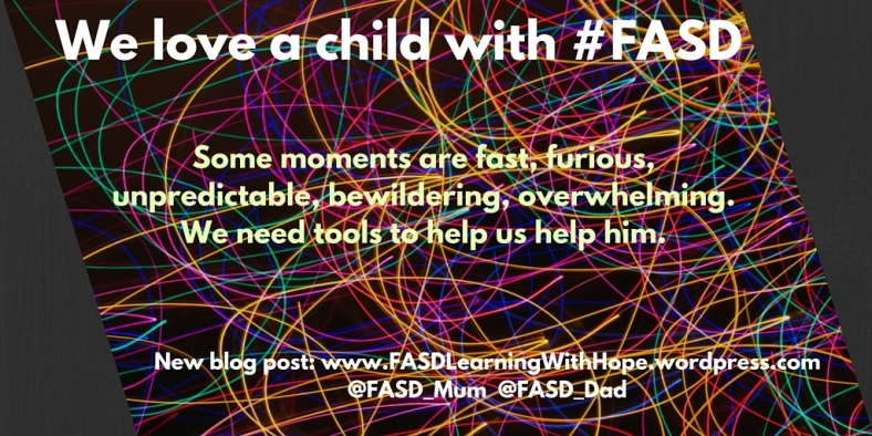 We love a child with #FASD