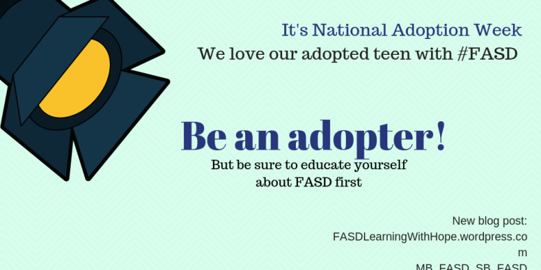 Be an adopter!